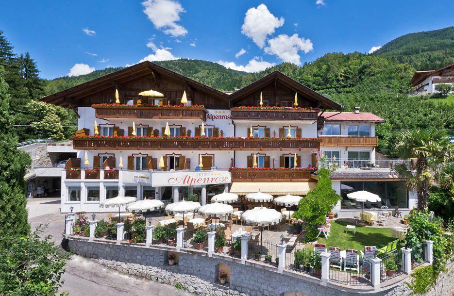 hotel alpenrose in schenna s dtirol 3 sterne hotel. Black Bedroom Furniture Sets. Home Design Ideas