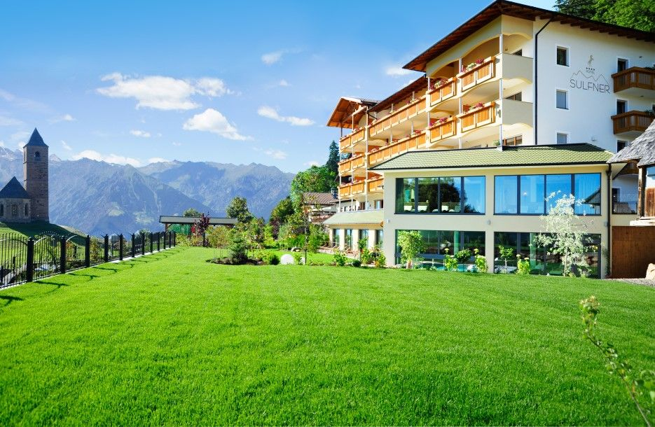 Hotel sulfner in hafling s dtirol 4 sterne hotel for Designhotel suedtirol